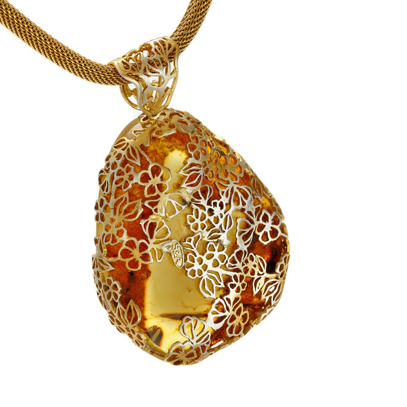 Šperky s přírodním jantarem acf7a1e35ae